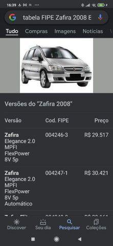 Zafira Elite 2008 automática blindada - Foto 6