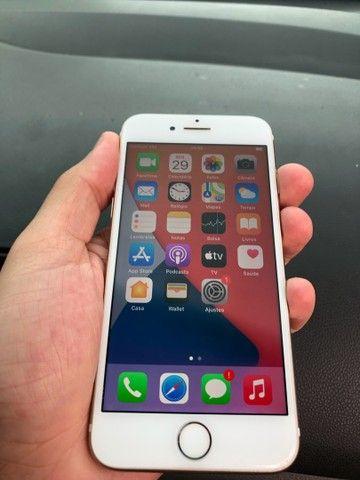 iPhone 7 de 128gb Gold - Até 12x sem juros  - Foto 2