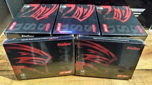 SSD 120gb kingspec - 128, 240, 256, 480 e 512gb - Novos - Entrego e Aceito Cartões - Foto 6