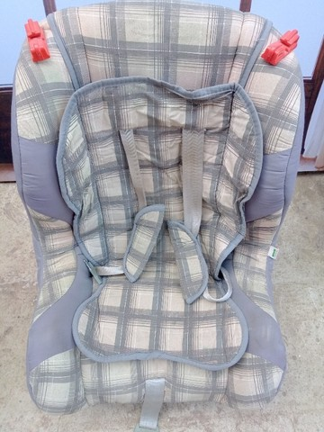 Cadeira para Automóvel Tutti Baby Atlantis  - 9 a 25 Kg - Xadrez Cinza - Foto 3