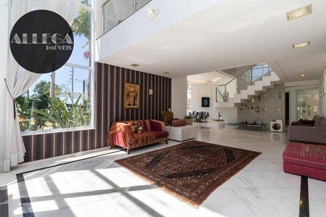 Casa com 5 quartos, 4 suítes, 2 piscinas privativas, à venda, 750 m² por R$ 4.400.000 - Ca - Foto 7