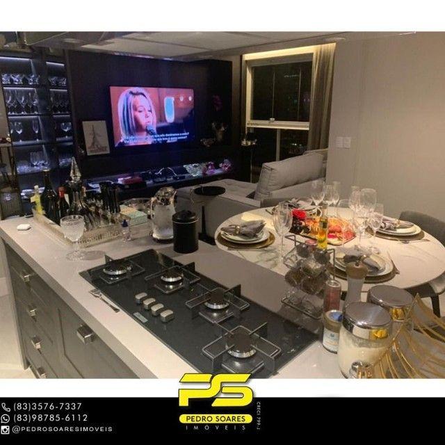 ** PROJETADOS ** Apartamento à venda, 70 m² por R$ 650.000 - Altiplano - João Pessoa/PB