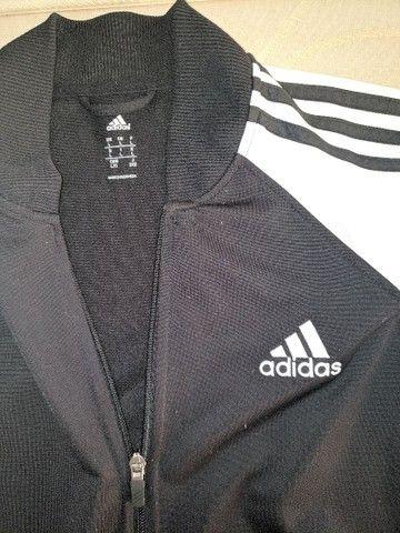 Agasalho Adidas original tamanho G - Foto 2