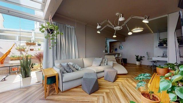 Apartamento de 101m², com 2 dormitórios/quartos, 1 suite com closet, 2 vagas cobertas - Jd - Foto 3