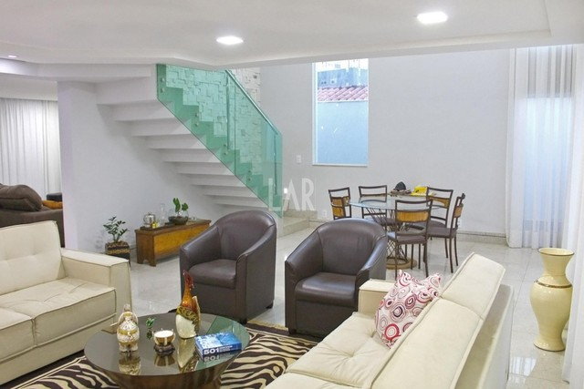 Casa à venda, 4 quartos, 4 suítes, 7 vagas, São Bento - Belo Horizonte/MG