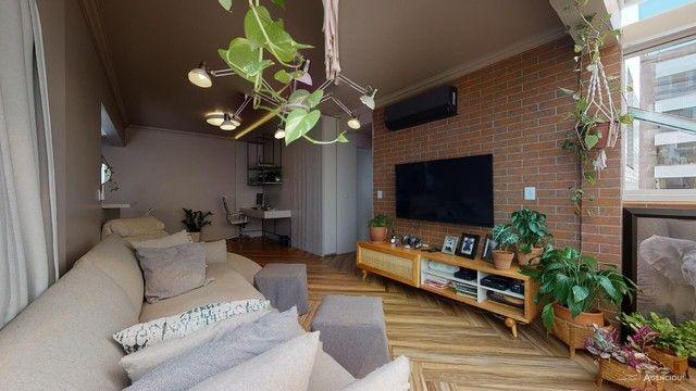 Apartamento de 101m², com 2 dormitórios/quartos, 1 suite com closet, 2 vagas cobertas - Jd