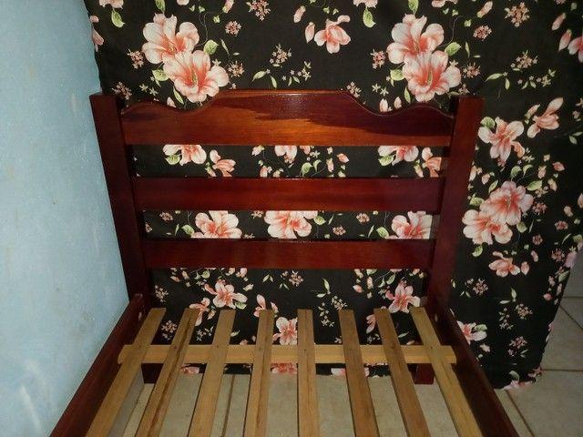 Cama solteiro madeira maciça  - Foto 2