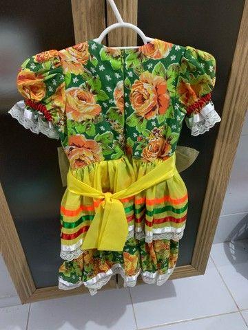 Vestido de São João infantil
