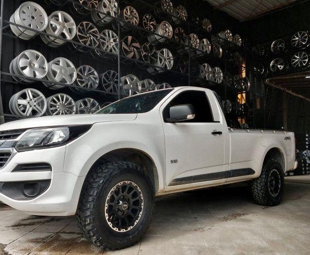? Pneus novos  de camionete  modelo bf allterrian - Foto 6