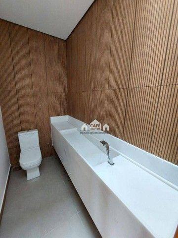 Casa com 4 dormitórios à venda, 250 m² por R$ 1.690.000,00 - Condomínio Boulevard - Lagoa  - Foto 4