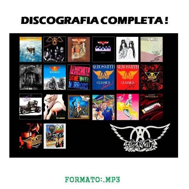 Aerosmith todas as mu$ic@s p/ouvir no carro, em casa no apto - Foto 2