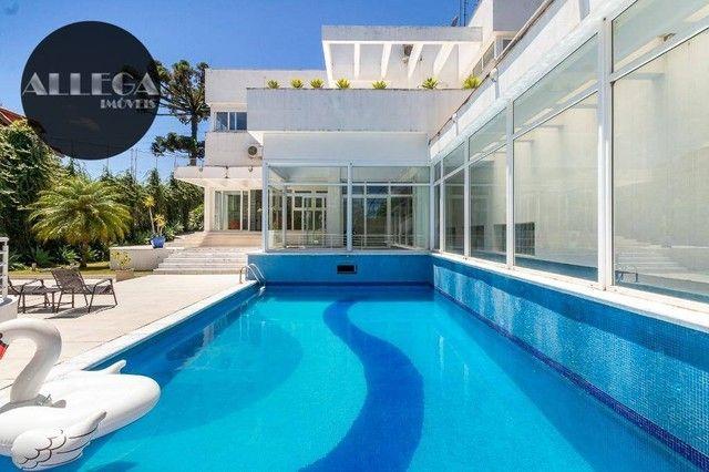 Casa com 5 quartos, 4 suítes, 2 piscinas privativas, à venda, 750 m² por R$ 4.400.000 - Ca - Foto 2