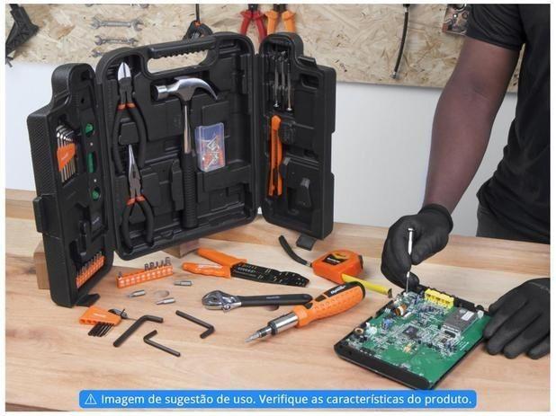 Kit Ferramentas Sparta 129 Peças 13564 - com Maleta - Foto 2