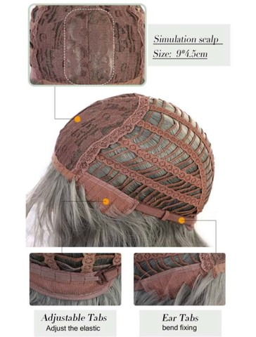 Lace/peruca sintética loira NOVA - Foto 3