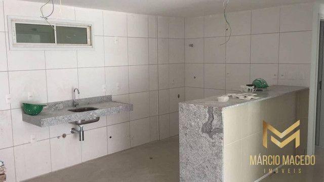 Apartamento com 3 quartos à venda por R$ 460.000 - Porto das Dunas - Aquiraz/CE - Foto 4
