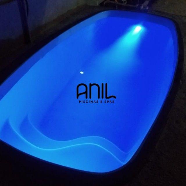 JA - Piscina Anil - piscina nova de fibra - 4 x 2 x 1m - Foto 2