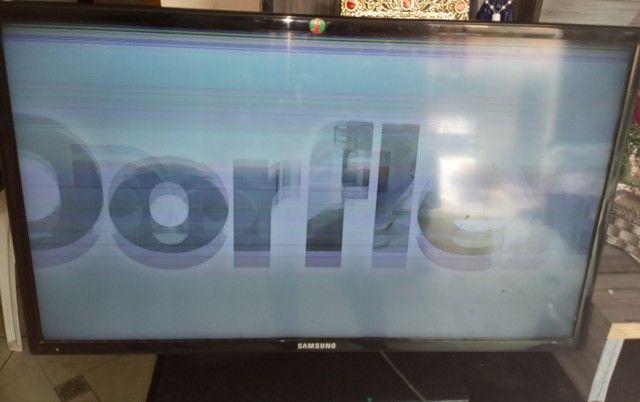 TV SAMSUNG LED 32 ' com defeito na imagem - Foto 3