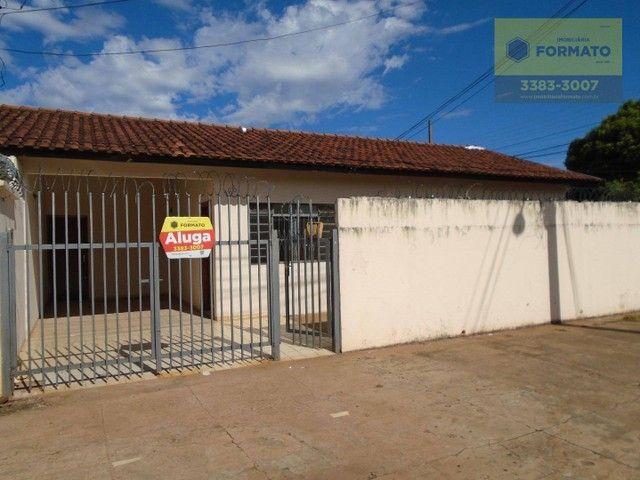 Casa para alugar, 90 m² por R$ 1.100,00/mês - Jardim Jóquei Club - Campo Grande/MS