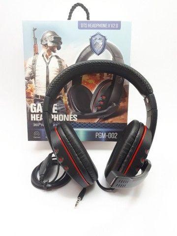 Fone Gamer Headphone Para Celular Ps3 Ps4 Pc Notebook Smartphones - Foto 5