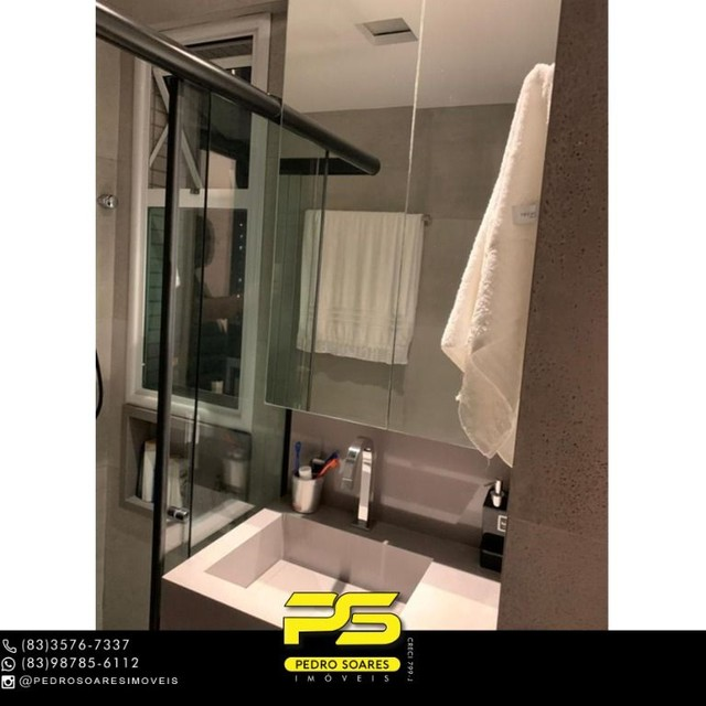 ** PROJETADOS ** Apartamento à venda, 70 m² por R$ 650.000 - Altiplano - João Pessoa/PB - Foto 5