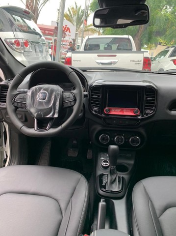 Fiat toro ultra diesel 4x4 Aut Branca 1.600km 2021 - Foto 8
