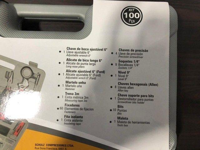 Kit de Ferramentas 100 peças - Foto 4