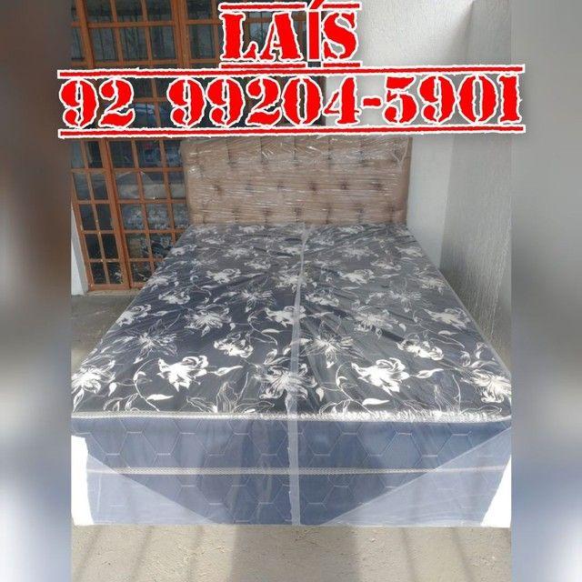 Cama molas +++++ dois travesseiros ++++ entrega grátis