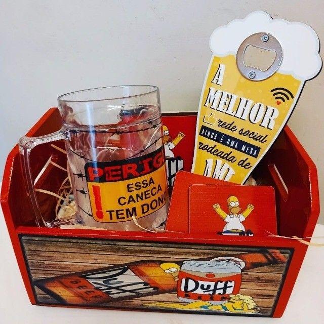 Presentes decorativos e cestas - Foto 3