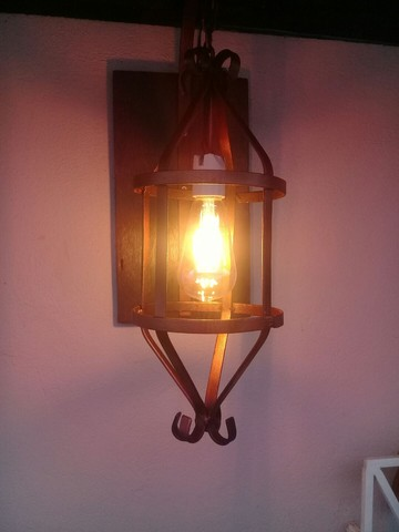 Luminária Rustica  - Foto 4