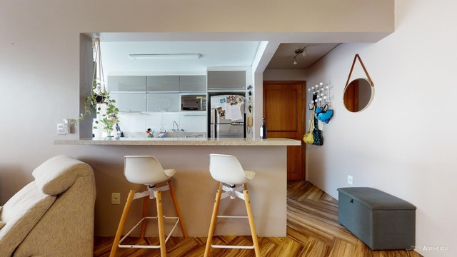 Apartamento de 101m², com 2 dormitórios/quartos, 1 suite com closet, 2 vagas cobertas - Jd - Foto 14