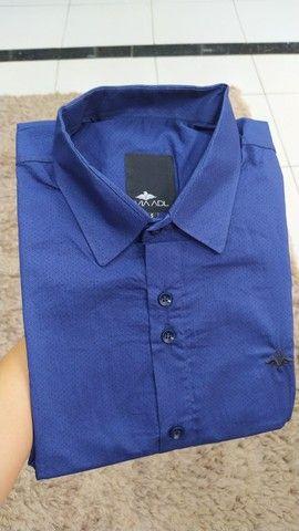 Camisas work preço de fábrica - tamanho 8 - camisas plus size - Foto 2