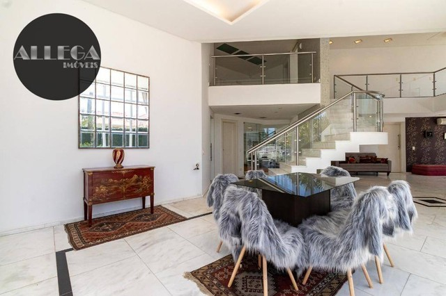 Casa com 5 quartos, 4 suítes, 2 piscinas privativas, à venda, 750 m² por R$ 4.400.000 - Ca - Foto 13