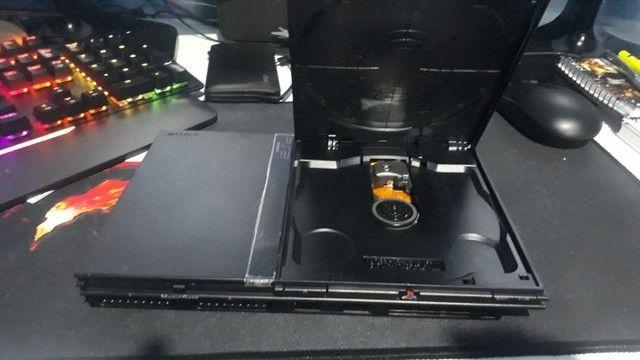 Playstation 2 - PS2 - Praticamente novo - Foto 3