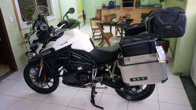 Triumph Tiger explorer - super equipada-Abs