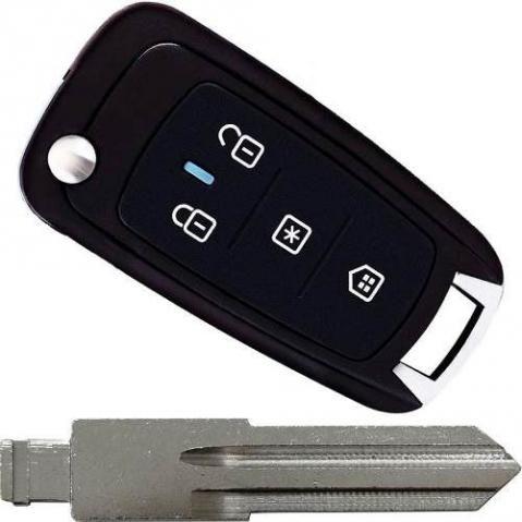 Chaves automotivas code canivete