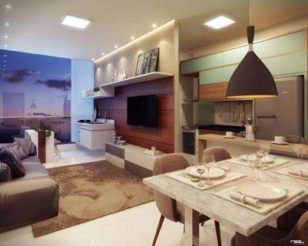 L04 - Apartamento na Praia de Itaparica, 2 quartos com suíte