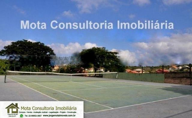 Mota Imóveis - Araruama Terreno 316m² com RGI Condomínio Fechado Linda Área Lazer -TE-051 - Foto 16