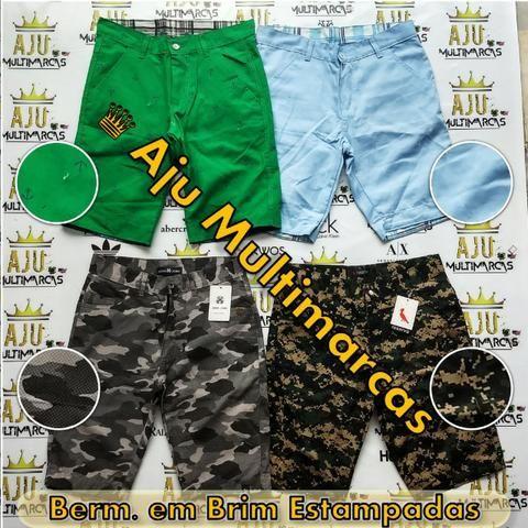Bermuda Brim Estampada (Mod. 08) - Roupas e calçados - Aracaju ... b1c5750e62