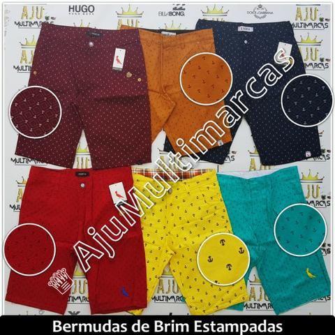 Bermuda Brim Estampada (Mod. 05) - Roupas e calçados - Aracaju ... d9f7631868
