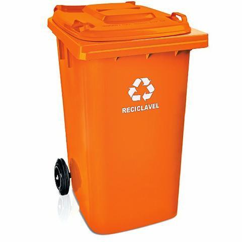 Contentor de lixo 240 litros R$ 175,00 revenda /atacado