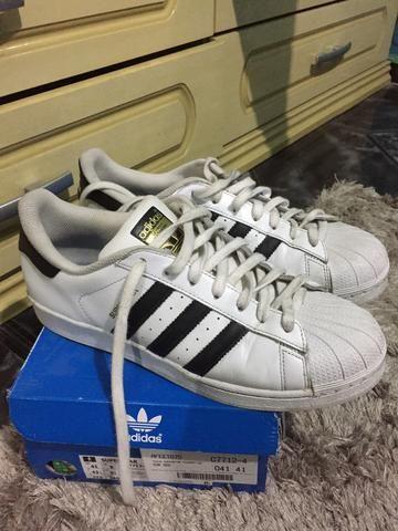 e3b300cb Adidas Superstar Foundation tam. 41 - Roupas e calçados - Deodoro ...