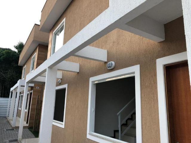Casa duplex de primeira locação com 2 quartos e vaga em Itaiocaia Valley - Foto 2