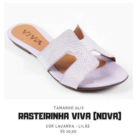 5c36d66d57 Rasteirinha 34 35 Lavanda marca viva NOVA - Roupas e calçados - São ...