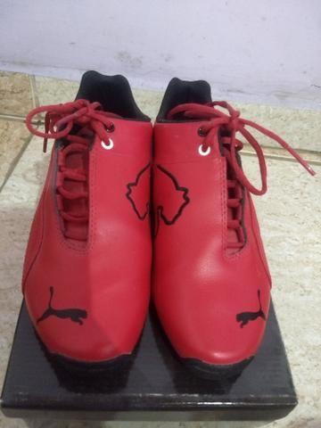 7d60f43096033 Tenis puma Ferrari original 34 - Roupas e calçados - Vila ...