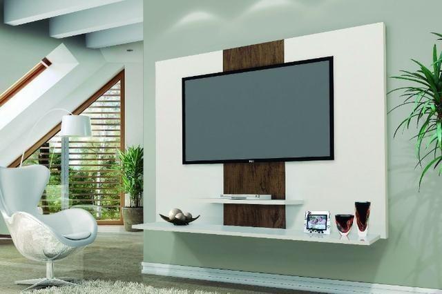 Painel Tv Zaion 42 pol Prateleiras- Produto Novo e com Garantia * Entrega Rápida