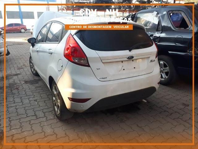 Sucata Ford Fiesta 2017 1.6 128cv Flex