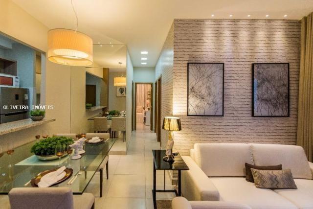Apartamento para venda em cuiabá, jardim das palmeiras, 2 dormitórios, 1 banheiro - Foto 2