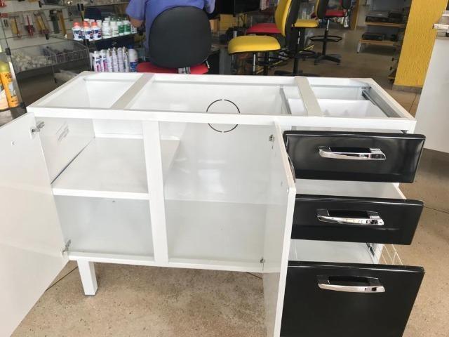 Gabinete HB 1,20 Para Pia de Cozinha Totalmente Organizada e Moderna - Foto 2