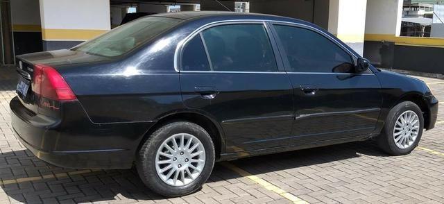 Honda Civic LX 1.7 Completo 2001/2001 R$11.800,00 Parcelo no Cartão de Credito - Foto 4
