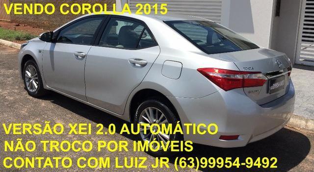 Corolla Xei 2015 - 04 pneus Michelin Zero - Documento pago - Estado de Zero - Foto 14